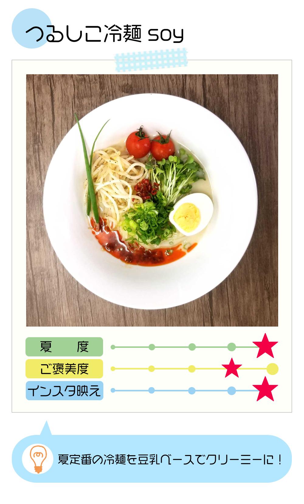 つるしこ冷麺soy