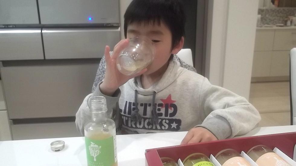 岡山果汁ものがたりと息子