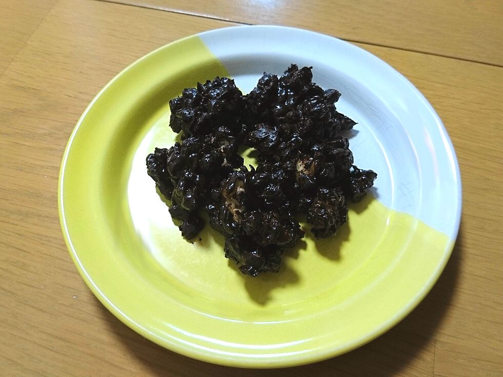 グラノーラと岡山蒜山高原カカオ80%のちょっとビターな割れチョコレート
